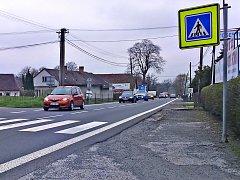 Táborský Všechov dostane chodník podél hlavní silnice.