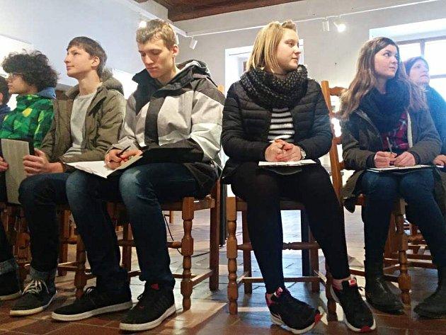 Děti z Bolzana v muzeu.