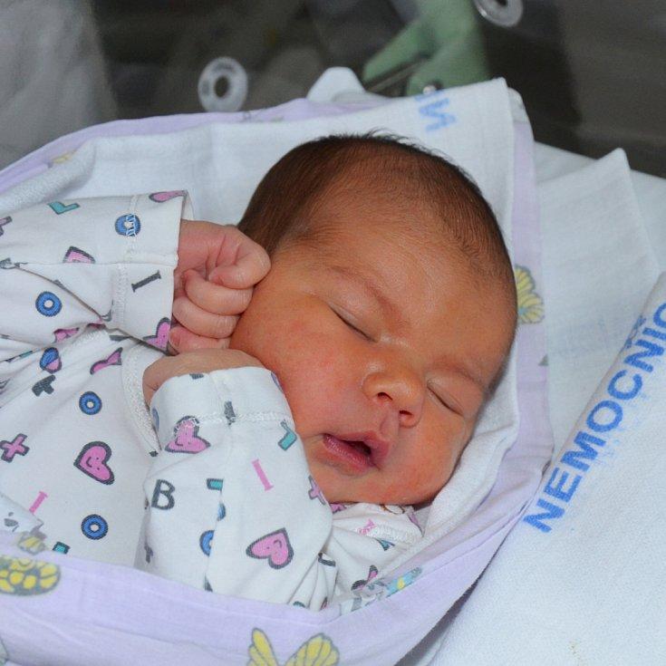 Anna Benešová z Bechyně. Prvorozená dcera rodičů Simony a Jiřího přišla na svět 18. října v 16.24 hodin. Při narození vážila 3900 gramůa měřila rovných 50 cm.