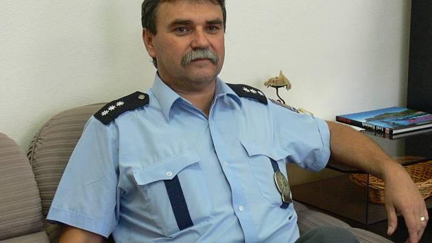 František Filip slouží policii 32 let.