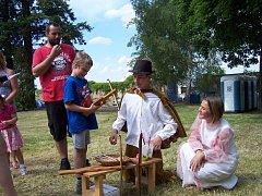 Mladovožická Zámecká zahrada patřila v sobotu především dětem.
