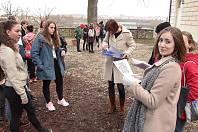 Francouzský zpěv, film, divadlo i zábavná hra čekala na studenty v Táboře.
