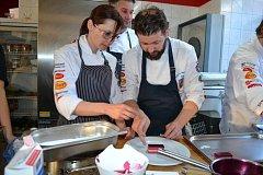 Mistři kuchyně trénovali v pátek v Bechyni na olympiádu.