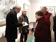V gotickém sále Husitského muzea konala vernisáž výstavy Pavla Talicha - Camera obscura.