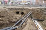 Horkovod z Plané nad Lužnicí do Tábora bude mít po dokončení celkovou délku 5,6 kilometrů.