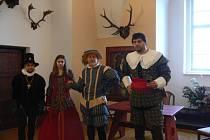 Advent na zámku v Bechyni za dob Petra Voka.