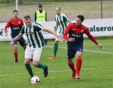 Z utkání FK Malše Roudné - Spartak Soběslav.