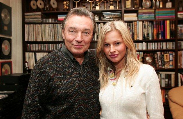 Petra Křivková-Svoboda měla tu čest setkat se sKarlem Gottem.