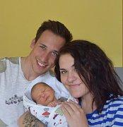 Sebastian Bíba z Mladé Vožice. Narodil se jako první dítě  rodičů Kristýny a Rostislava  2. dubna v 7.32 hodin. Vážil 3710 gramů a měřil 51 cm.