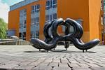 Venkovní výstava Umění ve městě už ve Veselí nad Lužnicí začala. Sochy a umělecká díla si prohlédnete do konce září.