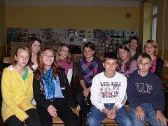 S dětmi z osmé třídy Základní školy Veselí nad Lužnicí, ČSA jsme si povídali o Sametové revoluci