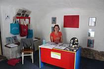 Netradiční infocentrum ve Vildově mlýně nabízelo služby turistům i díky Bohumile Mrzenové.