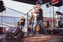 V pořadí třetí koncert pod širým nebem v táborském klubu Garage navštívilo kolem 400 milovníků dobré hudby.