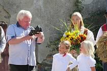Dožínky v Borotíně v sobotu 21. září měly slavnostní nádech.