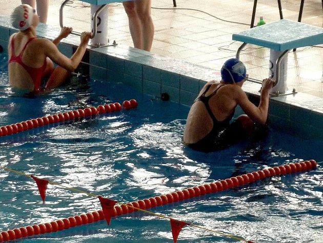 Plavecké závody. Ilustrační foto.