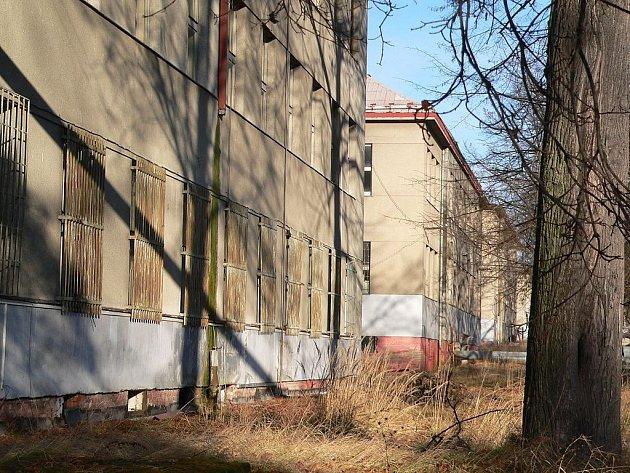 Bývalé kasárny Jana Žižky v Táboře.