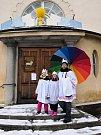 Tříkrálová sbírka se konala v sobotu v Soběslavi.