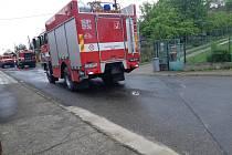 Jednotka dobrovolných hasičů města Tábora byla v neděli v 15 hodin povolána k požáru v táborské ulici Doliny. Na místo vyjela s technikou CAS 15 a Man 1+5.