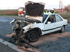 Sobotní nehoda uzavřela na několik hodin obchvat Tábora. 2cc6382aba