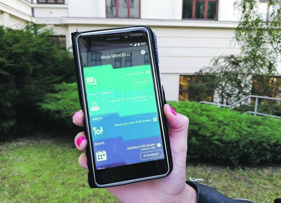 Spolupracovat na mobilní aplikaci vznikající na Mendelově univerzitěOkrašlovací spolek Jistebnice