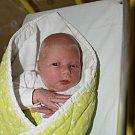 Šárka Kubecová ze Zvěstonína. Rodiče Věrka a Lukáš se své prvorozené dcery dočkali 14. listopadu v 5.58 hodin. Malá Šárka po narození vážila 3250 gramů a měřila 49 cm.