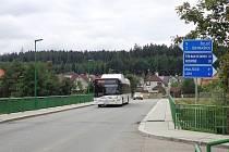 Most v Plané nad Lužnicí.