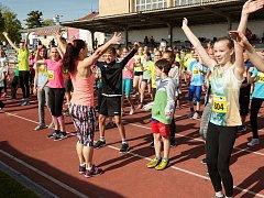 Krajské kolo na táborském stadionu Míru provázela příjemná atmosféra.