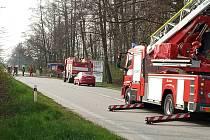 Kácení stromů bylo díky hasičům rychlé a efektivní.