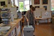 Chýnov - volby do Evropského parlamentu.