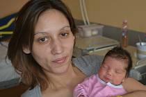 Isabela Tothová ze Soběslavi. Přišla na svět  27. ledna v 9.25 hodin. Její váha po narození byla  2730 gramů, měřila 45 cm a doma  má osmiletou sestřičku Janu a pětiletého brášku Lukáše.