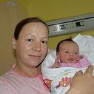 Rozálie Hejhalová z Křemenice. Narodila se jako druhé dítě v rodině 15. října v 9.31 hodin. Vážila 3090 gramů, měřila 48 cm a bráškovu Lukášovi je čtyři a půl roku.