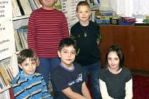 TŘEŤÁCI Kateřina, Dominik, Jakub, Radek a Jan ze Základní školy v Dražicích vyprávěli, kdo je podle nich miss a co dělá.