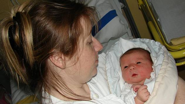 DAGMAR VAŠICOVÁ Z BECHYNĚ. Narodila se  rodičům Dagmaře a Miroslavovi  14. března v 8.11 hodin . Vážila 4250 g a měřila 51 cm.