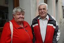 Marta a Jaroslav Krovozovi se do Soběslavi přistěhovali před dvěma roky za svými dětmi. Jsou spolu pětačtyřicet let.
