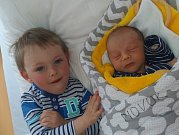 David Smolík z Chotěmic. Narodil se 7. května v 5.46 hodin jako druhý syn v rodině. Vážil 3250 gramů, měřil 47 cm a doma má tříletého brášku Marka.
