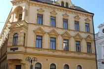 Dům v Divadelní ulici čp. 212.