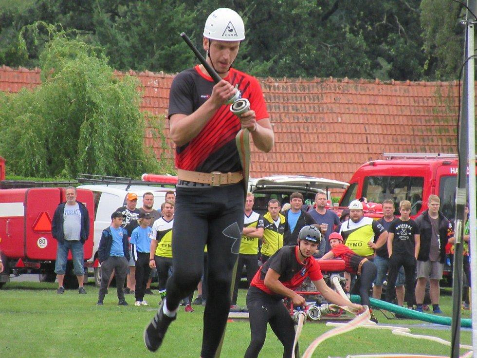 Závody dobrovolných hasičů v požárním útoku Přehořovský kopeček se v sobotu 29. srpna dočkaly svého 12. ročníku.