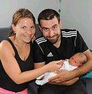 Marek Miler z Tábora. Na svět přišel 7. června dvě minuty před devátou hodinou a je prvním dítětem rodičů Romany a Petra. Po narození vážil 3230 gramů a měřil rovných 50 cm.
