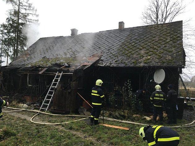 Tragické požáry na jihu Čech