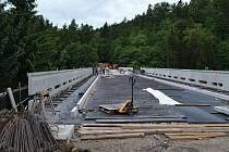 Provoz na Švehlově mostě má být obnoven 7. srpna.
