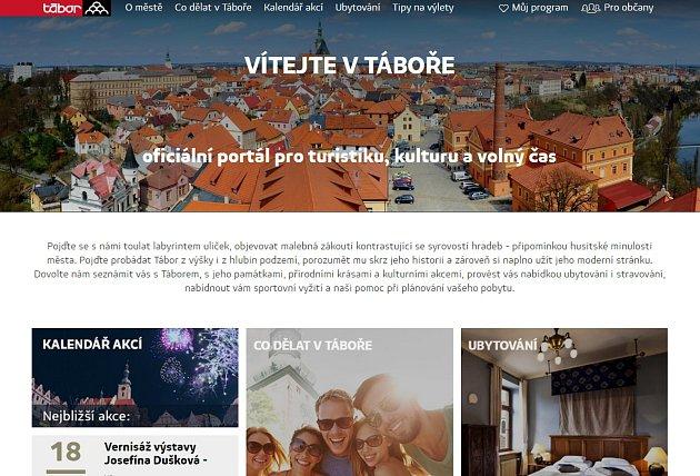 Webové stránky města Tábor jsou třetí nejlepší v republice.
