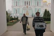Záběr z filmu Dálava.