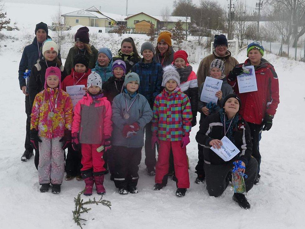 Děti si užily Nadějkovský biatlon 2019.