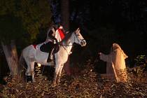 Martin na bílém koni.