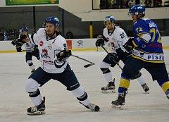 Derby hokejistů Tábora a Písku mívají o náboj postaráno.