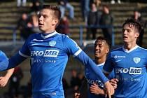 Radost hráčů FC MAS Táborsko.