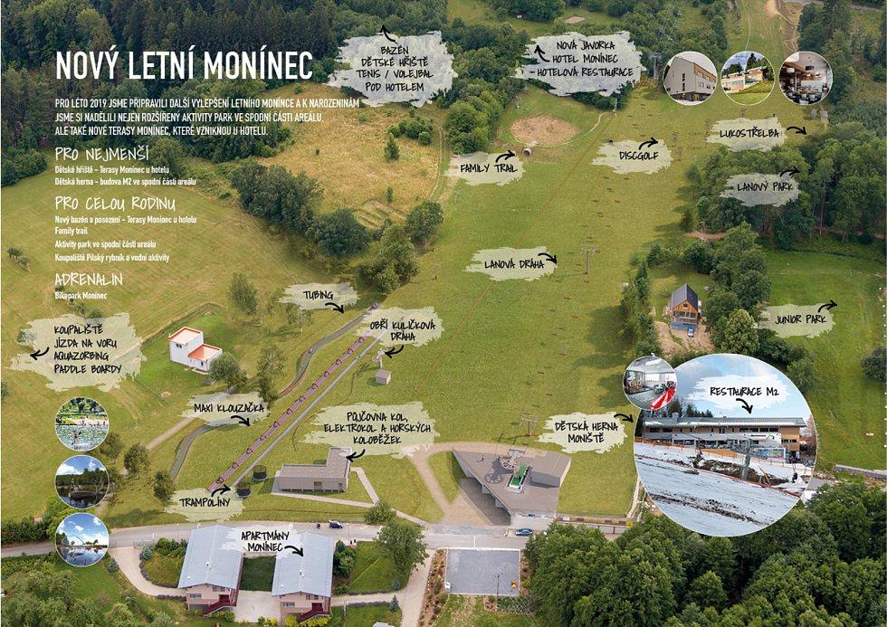 Areál Monínec spouští svoji letní sezónu.
