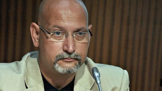 Mluvčí Útvaru pro odhalování organizovaného zločinu Pavel Hanták.