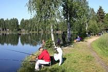 Letos v červnu pořádala místní organizace Českého rybářského svazu Soběslav–Roudná na  pískovně Dětské rybářské závody.