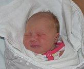 Natálie Stránská z Vlastiboře. Prvorozená dcera rodičů Jiřiny a Tomáše přišla na svět 18. dubna ve 2.44 hodin. Její váha byla 4020 gramů a míra 50 cm.